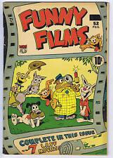 Funny Films #1 Export Pub. 1949 CANADIAN EDITION