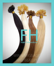 HUMAN_REMY_HAIR_EXTENSIONS_ KERATIN # 33 STRAIGHT_100 STRANDS_1_GR_FREE_SHIPPING