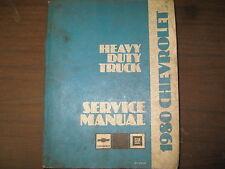 1980 CHEVROLET HEAVY DUTY TRUCK FACTORY REPAIR SERVICE MANUAL