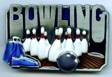 Gürtelschnalle Kegeln Buckle Bowling