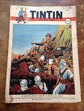 JOURNAL TINTIN 1 France (1948) couv Le Rallic BD ancienne RARE côte BDM : 250e