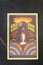 B.B. King Tour Poster 1971 #2 Booker T and the MG's