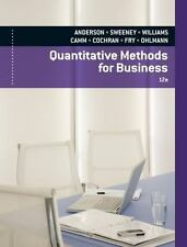 Quantitative Methods For Business 12/E Int'L Edition
