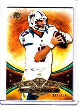 2013 Topps Triple Threads Ryan Tannehill Miami Dolphins Emerald Parallel /170