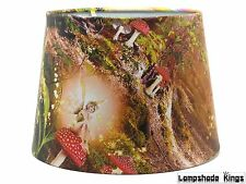 Fairy Lampshade Ceiling Light Shade Fairies Woodland Deer Girls Bedroom Nursery