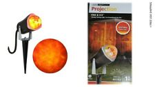 Gemmy Lightshow Projection Light Fire & Ice (Red/Yellow) Halloween Decoration