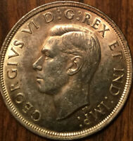 1937 CANADA SILVER 1 DOLLAR - Very choice! Amazing!