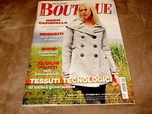 Rivista Magazine LA MIA BOUTIQUE completa di cartamodelli