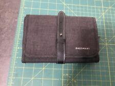 Bagsmart Grey Folding Electronic Travel Cable Organizer Bag FREE Shipping!!