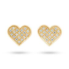 Pendientes de joyería con diamantes naturales SI1