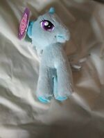 "11"" MY LITTLE PONY TRIXIE LULAMOON BLUE UNICORN STUFFED ANIMAL 2013 HASBRO TOY"
