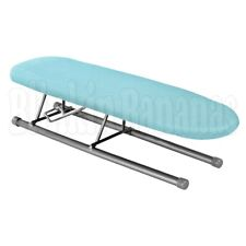 FOLDING MINI SMALL TABLE TOP IRONING BOARD SLEEVES COLLAR CUFF PLEATS CORNERS