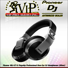 Pioneer HDJ-X7-S Professional Over-Ear DJ Headphones Crystal Clear 50-mm driver.