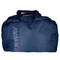 Bag Duffle Bag Man Woman Blue K-WAY Bag Men Woman K-Jet Duffle K1V040 Navy