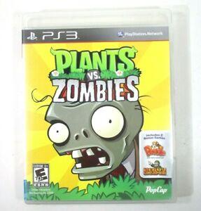 Plants vs. Zombies (Sony PlayStation 3, 2011) CIB