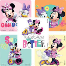 25 Disney  Minnie Mouse & Daisy Duck Stickers Party Favors  Teacher Supply