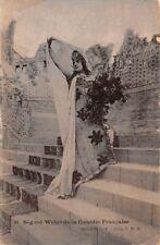 SEGOND-WEBER (Caroline-Eugénie) - Actrice -  de la Comédie Française -