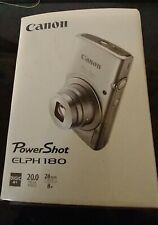 Canon PowerShot ELPH 190 IS / IXUS 180 20.0 MP Digital Camera - Silver