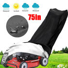 75'' Outdoor Lawn Mower Tractor Cover Heavy Duty Waterproof UV Protection Garden