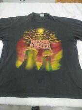 Nuclear assault survive vintage shirt 1988 L anthrax slayer carcass brutal truth