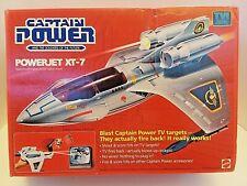 MINT Captain Power 1987 XT-7 Powerjet 100% Complete Tested power jet XT 7 toy