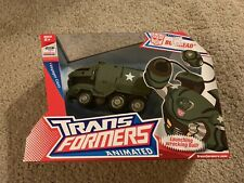 Bulkhead 100% Complete Transformers Animated Voyager 2007 with Box
