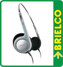 AURICULARES ULTRALIGEROS HIFI PHILIPS DIADEMA AJUSTABLE CABLE 1.2M 3.5MM BD5212