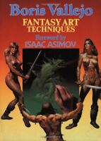 Fantasy Art Techniques by Vallejo, Boris Paperback Book The Fast Free Shipping
