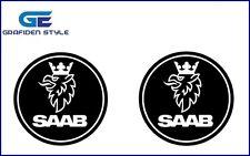 2 Stück x 9 cm - SCANIA SAAB - LKW Aufkleber - Sticker - Decal !