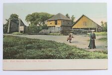 Old UDB postcard FORT HALIFAX, WINSLOW, MAINE, pre 1907