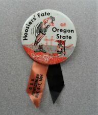 >orig. 1964 Oregon State Beavers vs Indiana Hoosiers **Homecoming Football Pin**