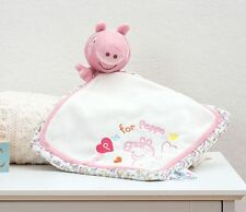 Peppa Pig Comfort Blanket Soft Toy Baby Gift Idea - NEW  23949