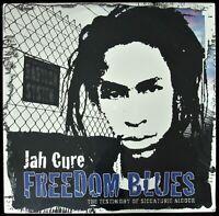 "JAH CURE ""FREEDOM BLUES"" 2005 LP ALBUM 12 TRACKS SIZZLA REGGAE ~RARE~ *SEALED*"