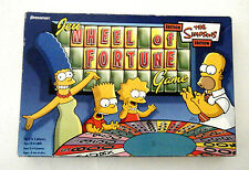THE SIMPSONS EDITION WHEEL OF FORTUNE FAMILY BOARD GAME 2005 PRESSMAN