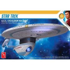 AMT Star Trek USS Excelsior Nx-2000 1 1000 1257 Plastic Model Kit Spaceship