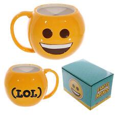 Funny Ceramic Big Smile Face LOL Emoji Emoti Emotive Coffee Tea Mug Gift MUG219
