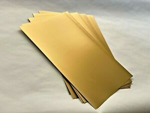 Gold Metallic Card X 10 sheets 50x33cm - Art and Crafts