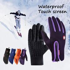 Women Men Warm Winter Cycling Ski Plus Velvet Mitten Touch Screen Glove r