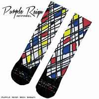 "NIKE AIR JORDAN RETRO VIII 8 ""PLAYOFFS"" 2013 Custom Premium Socks (ALL SZ)"