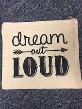 Canvas Bag Dream Out loud