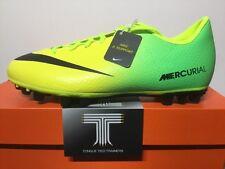 Nike JR Mercurial Victory IV AG ~ 555633 703 ~ Regno Unito taglia 3.5