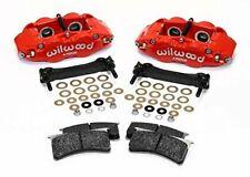 Wilwood 140-15173-R SLC56 Front Caliper Kit,Red, Corvette All C5 / Base C6 1997-