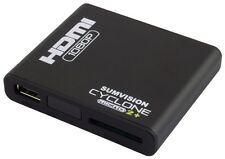 New Sumvision Cyclone Micro 2+ Media Player Full HD MKV HDMI 1080p 5.1 Surround