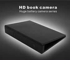 1080P HD Spy Book Camera Night Vision Home secruity Motion Activated Hidden DV