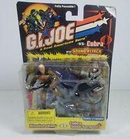 GI Joe vs Cobra Blowtorch / Cobra Snow Serpent 2-Pack 2002 Hasbro