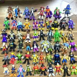 50+Imaginext Power Rangers  Super Friends  Blind bag Series 1 2 3 Figures Toy
