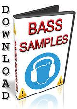 BASS SAMPLES - REASON REFILL -CUBASE- FRUITY LOOPS - FL STUDIO- KONTAKT- ABLETON