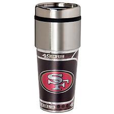 SAN FRANCISCO 49 ERS Tumbler 16oz Stainless Steel Travel Mug Logo Emblem