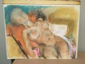 Vintage Figure Study Signed -  LEMPICKA
