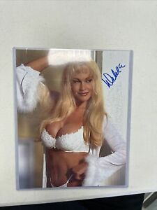 Debra Mcmichael Signed 8x10 Autographed Photo Leaf Wrestling